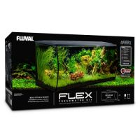 Fluval FLEX Aquarium Kit Black 123 L
