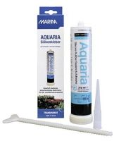 A11261 Aquaria Silicon Glue 310 ml прозрачный